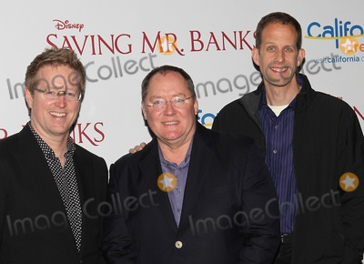 Andrew Stanton Photo - 9 December 2013 - Hollywood California - Andrew Stanton John Lasseter Pete Docter Saving Mr Banks - Los Angeles Premiere Held at Walt Disney Studios Photo Credit Kevan BrooksAdMedia