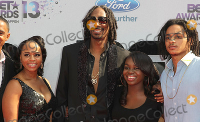 Cori Broadus Photo - 30 June 2013 - Los Angeles California - Snoop Dogg aka Snoop Lion Shante Taylor Corde Broadus Cordell Broadus and Cori Broadus 2013 BET Awards held at Nokia Theatre LA Live Photo Credit Kevan BrooksAdMedia