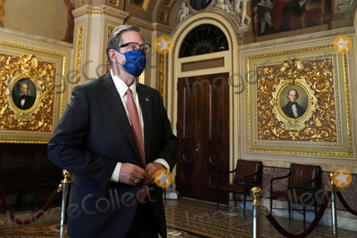 President Trump Photo - Bruce Castor Jr attorney for former President Donald Trump is seen in the Senate Reception Room before the fifth day of the impeachment trial of former President Trump on Saturday February 13 2021Credit Greg Nash - Pool via CNPAdMedia