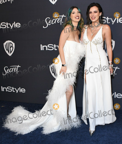 Bella Thorne Photo - 05 January 2020 - Beverly Hills California - Dani Thorne Bella Thorne 21st Annual InStyle and Warner Bros Golden Globes After Party held at Beverly Hilton Hotel Photo Credit Birdie ThompsonAdMedia
