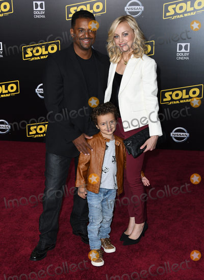 Alfonso Ribeiro Photo - 10 May 2018 - Hollywood California - Alfonso Ribeiro Solo A Star Wars Story Los Angeles Premiere held at Dolby Theater Photo Credit Birdie ThompsonAdMedia