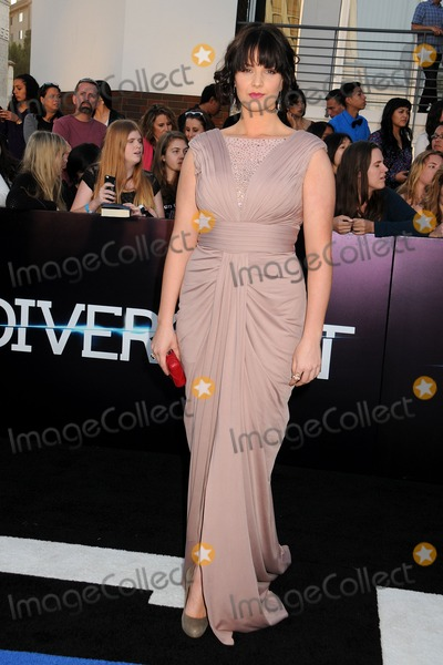 Amy Newbold Photo - 18 March 2014 - Westwood California - Amy Newbold Divergent Los Angeles Premiere held at The Regency Bruin Theatre Photo Credit Byron PurvisAdMedia
