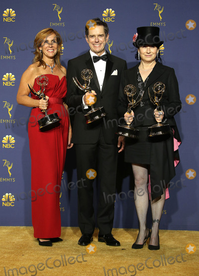 Amy Sherman-Palladino Photo - 17 September 2018 - Los Angles California - Sheila Lawrence Daniel Palladino and Amy Sherman-Palladino 70th Primetime Emmy Awards held at Microsoft Theater LA LIVE Photo Credit Faye SadouAdMedia