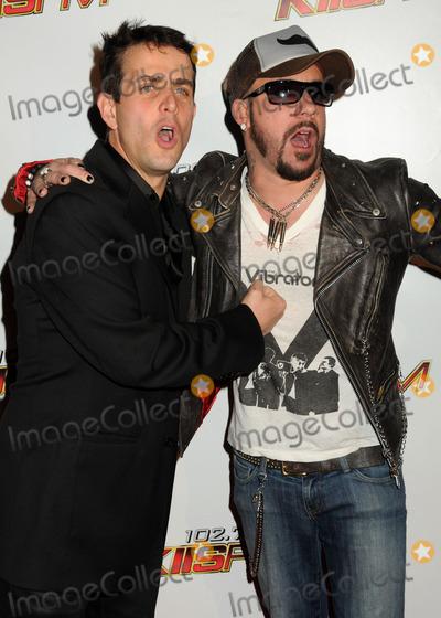 AJ McLean Photo - 5 December 2010 - Los Angeles California - Joey McIntyre and AJ McLean 1027 KIIS FMs Jingle Ball 2010 held at Nokia Theatre LA Live Photo Byron PurvisAdMedia