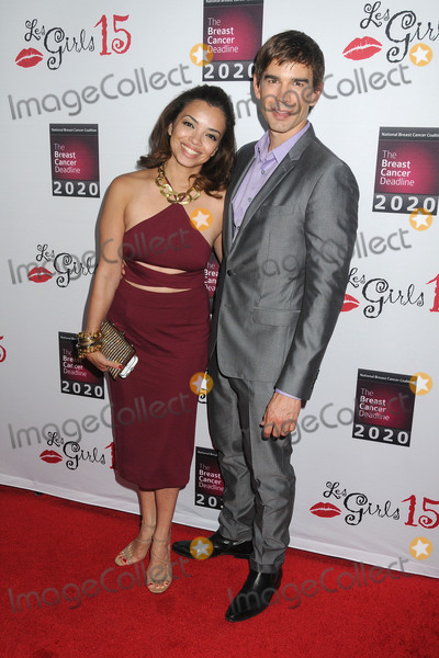 Anel Lopez Photo - 11 October 2015 - Hollywood California - Anel Lopez Gorham Christopher Gorham 15th Annual Les Girls Cabaret held at Avalon Photo Credit Byron PurvisAdMedia