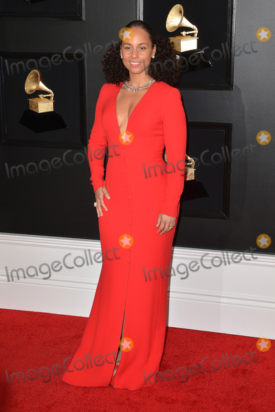 Alicia Keys Photo - 10 February 2019 - Los Angeles California - Alicia Keys 61st Annual GRAMMY Awards held at Staples Center Photo Credit AdMedia