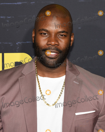 Amine Photo - 14 October 2019 - Hollywood California - Amin Joseph HBO Series Premiere of Watchmen held at The Cinerama Dome Photo Credit Billy BennightAdMedia