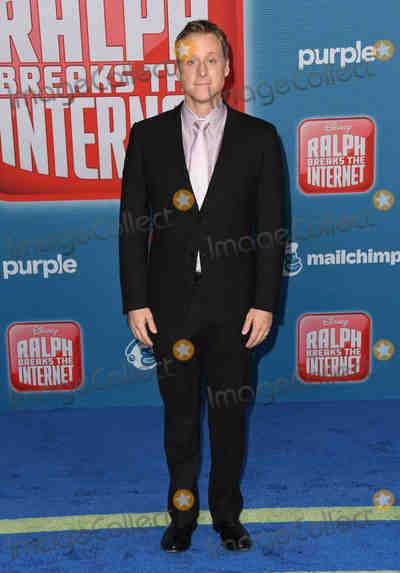 Alan Tudyk Photo - 05 November 2018 - Hollywood California - Alan Tudyk Disneys Ralph Breaks the Internet Los Angeles Premiere held at El Capitan Theater Photo Credit Birdie ThompsonAdMedia