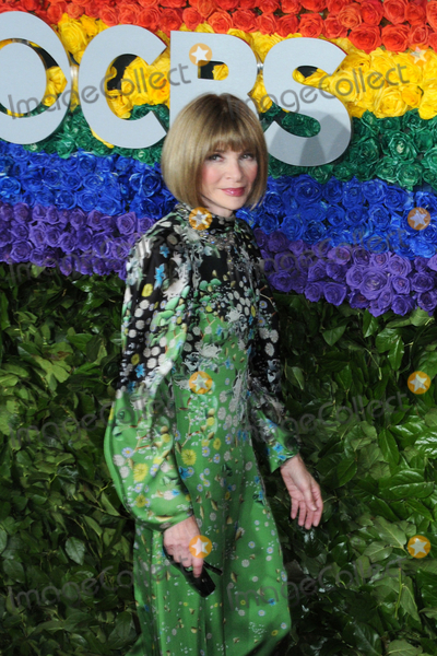 Anna Wintour Photo - 09 June 2019 - New York NY - Anna Wintour 73rd Annual Tony Awards 2019 held at Radio City Music Hall in Rockefeller Center Photo Credit LJ FotosAdMedia