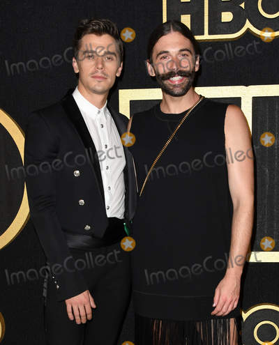 Antoni Porowski Photo - 17 September 2018 - West Hollywood California - Antoni Porowski Jonathan Van Ness 2018 HBO Emmy Party held at the Pacific Design Center Photo Credit Birdie ThompsonAdMedia