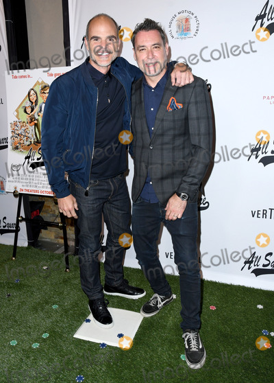 Andrew Sikking Photo - 02 October 2018 - Los Angeles  California - Michael Kelly Andrew Sikking All Square Los Angeles Premiere held at iPic Westwood Photo Credit Birdie ThompsonAdMedia