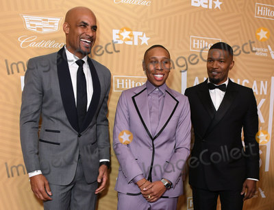 Boris Kodjoe Photo - 23 February 2020 - Beverly Hills California - Boris Kodjoe Lena Waithe Jamie Foxx American Black Film Festival Honors Awards Ceremony held at the Beverly Hilton Hotel Photo Credit Birdie ThompsonAdMedia