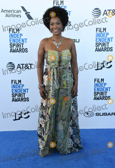 Yolanda Ross Photo - 23 February 2019 - Santa Monica California - Yolanda Ross 2019 Film Independent Spirit Awards - Arrivals held at the Santa Monica Pier Photo Credit Birdie ThompsonAdMedia