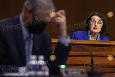 Pete Buttigieg Photo - WASHINGTON DC - APRIL 20  United States Senate Appropriations Committee member US Senator Dianne Feinstein (Democrat of California) questions members of the Biden administration during a hearing in the Dirksen Senate Office Building on Capitol Hill on April 20 2021 in Washington DC Biden cabinet members including Transportation Secretary Pete Buttigieg testified about the American Jobs Plan the administrations 23 trillion infrastructure plan that has yet to win over a single Republican in CongressCredit Chip Somodevilla   Pool via CNP