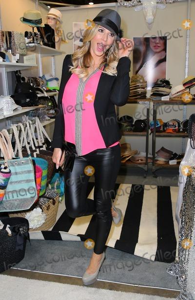 Alexis Bellino Photo - 19 February 2014 - Las Vegas NV -  Alexis Bellino Celebrity appearances at MAGIC Market Week 2014 Day 2 at the Las Vegas Convention Center Photo Credit mjtAdMedia