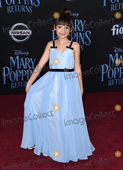 Ariana Greenblatt Photo - 29 November 2018 - Hollywood California - Ariana Greenblatt Mary Poppins Returns Los Angeles Premiere held at The Dolby Theatre Photo Credit Birdie ThompsonAdMedia