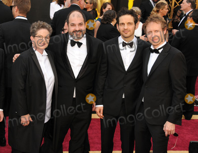 Laszlo Nemes Photo - 28 February 2016 - Hollywood California - Phyllis Nagy Laszlo Nemes and Geza Rohrig 88th Annual Academy Awards presented by the Academy of Motion Picture Arts and Sciences held at Hollywood  Highland Center Photo Credit Byron PurvisAdMedia