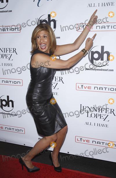 HODA KOTBE Photo - 20 January 2016 - Las Vegas Nevada - Hoda Kotb Jennifer Lope All I Have at The Axis at Planet Hollywood Resort and Casino Pre-Show Red Carpet Photo Credit MJTAdMedia