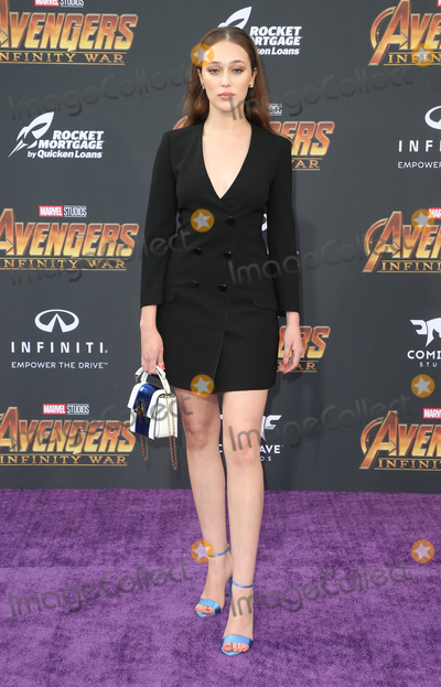 Alycia Debnam-Carey Photo - 23 April 2018 - Hollywood California - Alycia Debnam Carey Disney and Marvels Avengers Infinity War Los Angeles Premiere held at Dolby Theater Photo Credit F SadouAdMedia