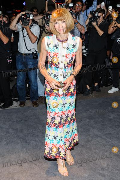 Anna Wintour Photo - 07 September 2016 - New York New York- Anna Wintour Tom Ford - Arrivals - September 2016 - New York Fashion Week Photo Credit Mario SantoroAdMedia