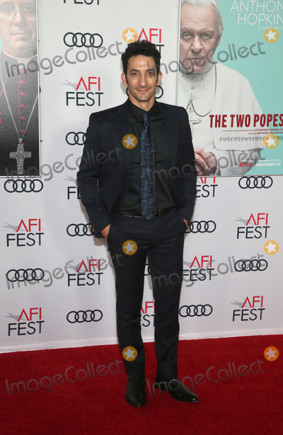 Audy Photo - 18 November 2019 - Hollywood California - Juan Minujin AFI FEST 2019 Presented By Audi  The Two Popes Premiere held at TCL Chinese Theatre Photo Credit FSAdMedia