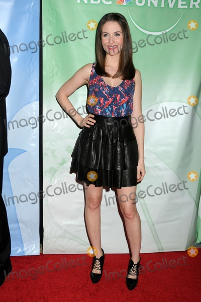 Alison Brie Photo - 13 January 2011 - Pasadena California - Alison Brie NBC Universal Press Tour All-Star Party held at the Langham Huntington Hotel and Spa Photo Byron PurvisAdMedia