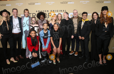 ASH Photo - 13 January 2020 - Los Angeles California - Bert Matt Newman Allison Janney McKenna Grace Viola Davis Milan Ray Kai Ture Lucy Alibar Jennifer Salke Jim Gaffigan Ash Thapliyal Julie Rapaport Bertie The Premiere Of Amazon Studios Troop Zero held at the Pacific Theatres at The Grove Photo Credit FSAdMedia