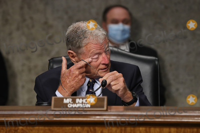 The Kills Photo - United States Senator James Inhofe (Republican of Oklahoma) chairman US Senate Armed Services Committee prepares for the confirmation hearing for US Army Lieutenant General Daniel Hokanson and US Army General Gustave F Perna in the Dirksen Senate Office Building on Capitol Hill June 18 2020 in Washington DC US President Donald Trump used the Army National Guard as a threat against protesters during violent demonstrations against the killing of George Floyd while he was in the custody of Minneapolis police Credit Chip Somodevilla  Pool via CNPAdMedia