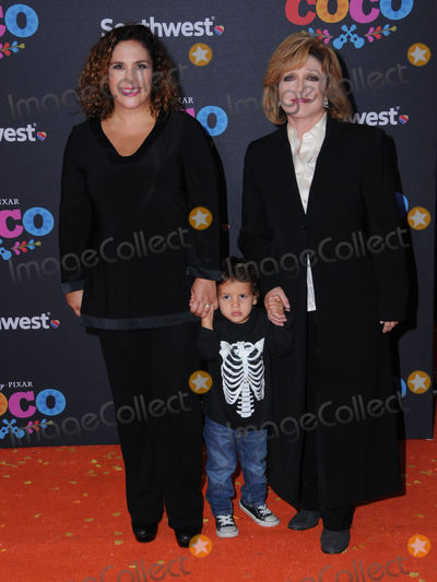 Angelica  Maria Photo - 06 November  2017 - Hollywood California - Angelica Vale Angelica Maria Disney Pixars Coco Los Angeles premiere held at El Capitan Theater in Hollywood Photo Credit Birdie ThompsonAdMedia