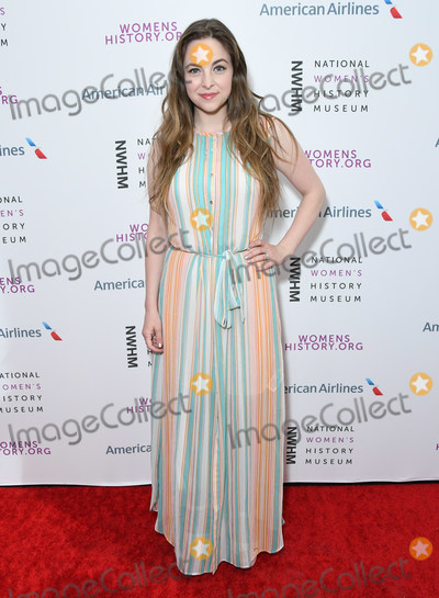 Brittany Curran Photo - 08 March 2020 - Los Angeles California - Brittany Curran The National Womens History Museums 8th Annual Women Making History Awards held at Skirball Cultural Center Photo Credit Birdie ThompsonAdMedia