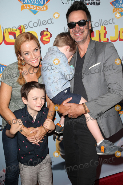 Annie Wersching Photo - 05 August 2017 - Los Angeles California - Annie Wersching Stephen Full Freddie Wersching Full Ozzie Wersching Nut Job 2 Nutty by Nature World Premiere held at Regal Cinema at LA Live Photo Credit F SadouAdMedia