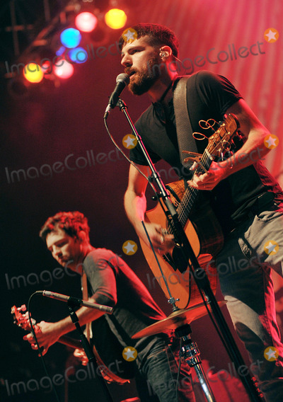 Scott Avett Photo - 27 May 2011 - Pittsburgh PA - Vocalistguitarist SETH AVETT and vocalistbanjo player SCOTT AVETT of the band THE AVETT BROTHERS performs to a Sold Out crowd at a stop on their Summer Camp 2011 Tour held at Stage AE  Photo Credit Jason L NelsonAdMedia