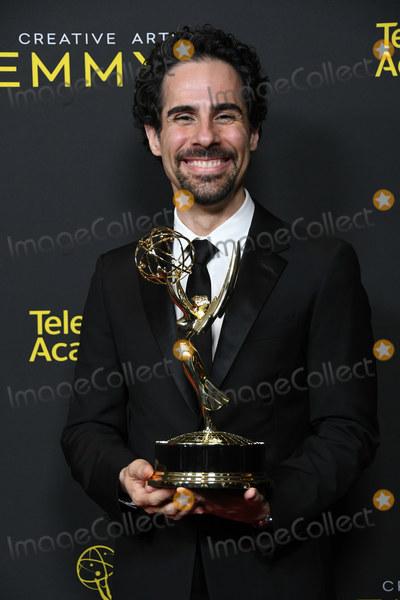 Alex Lacamoire Photo - 14 September 2019 - Los Angeles California - Alex Lacamoire 2019 Creative Arts Emmys Awards - Press Room held at Microsoft Theater LA Live Photo Credit Birdie ThompsonAdMedia