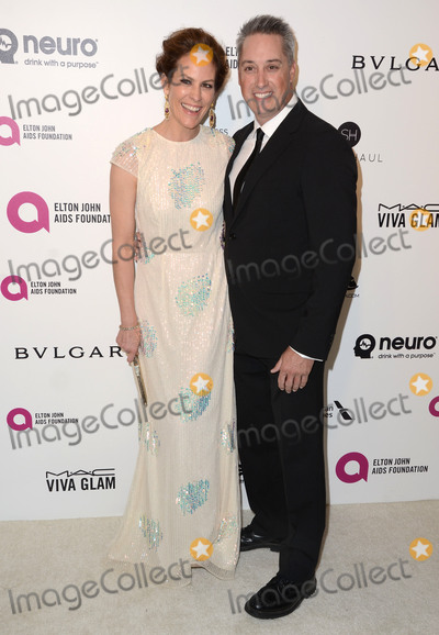 Annabeth Gish Photo - 28 February 2016 - West Hollywood California - Annabeth Gish Wade Allen 24th Annual Elton John Academy Awards Viewing Party sponsored by Bvlgari MAC Cosmetics Neuro Drinks and Diana Jenkins held at West Hollywood Park Photo Credit Birdie ThompsonAdMedia