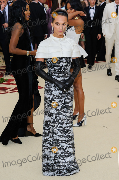 Alicia Vikander Photo - 07 May 2018 - New York New York - Alicia Vikander 2018 Metropolitan Museum of Art Costume Institute Gala Heavenly Bodies Fashion and the Catholic Imagination Photo Credit Christopher SmithAdMedia