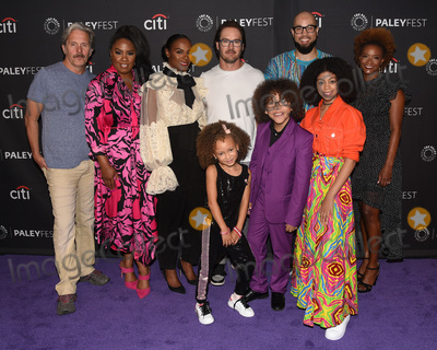 Arica Himmel Photo - 14 September 2019 - Beverly Hills California - Mykal-Michelle Harris Ethan William Childress Arica Himmel (L-R) back row) Gary Cole Christina Anthony Tika Sumpter Mark-Paul Gosselaar Peter Saji Karin GistMixed-ish - 2019 PaleyFest Fall TV Preview held at The Paley Center for Media - ABC Photo Credit Billy BennightAdMedia