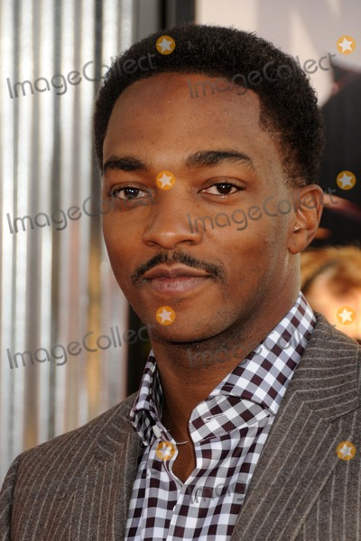 Athony Mackie Photo - 2 October 2011 - Universal City California - Athony Mackie Real Steel Los Angeles Premiere held at Universal Gibson Amphitheatre Photo Credit Byron PurvisAdMedia