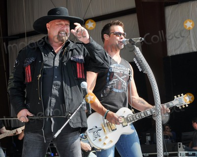 Troy Gentry Photo - 17 July 2011 - Morristown Ohio - Eddie Montgomery and Troy Gentry of Montgomery Gentry The 35th Anniversary of Jamboree In The Hills 2011 also known as the Super Bowl of Country Music Photo Credit Jason L NelsonAdMedia