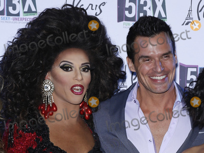 Antonio Sabato Jr Photo - 31 March 2016 - Las Vegas Nevada -  Shangela Antonio Sabato Jr  53X Chippendales newest show on the Strip celebrates its grand opening at Chateau Nightclub  Rooftop at Paris Las Vegas Photo Credit MJTAdMedia