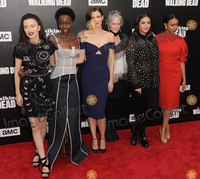 Danai Gurira Photo - 23 October 2016 - Hollywood California Christian Serratos Danai Gurira Lauren Cohan Melissa McBride Alanna Masterson Sonequa Martin-Green AMC Presents Live 90-Minute Special Edition Of Talking Dead held at Hollywood Forever Cemetery  Photo Credit Birdie ThompsonAdMedia
