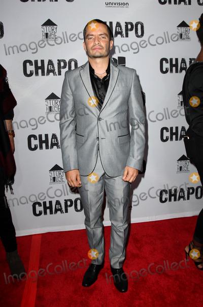 El Chapo Photo - 19 April 2017 - Los Angeles California - Juan Carlos Olivas Univisions El Chapo Original Series Premiere Event held at The Landmark Theatre Photo Credit AdMedia