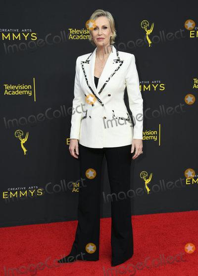 Jane Lynch Photo - 15 September 2019 - Los Angeles California - Jane Lynch 2019 Creative Arts Emmys Awards - Arrivals held at Microsoft Theater LA Live Photo Credit Birdie ThompsonAdMedia