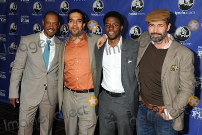 Zane Photo - 28 January 2012 - Santa Barbara California - Tory Kittles Mischa Webley Chadwick Boseman and Billy Zane 27th Annual Santa Barbara Film Festival - Modern Master Award Presented to Christopher Plummer held at the Arlington Theatre Photo Credit Byron PurvisAdMedia