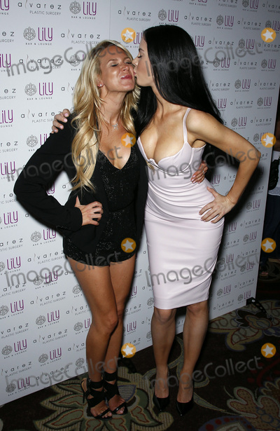 Amanda Vanderpool Photo - 17 July 2015 - Las Vegas Nevada -  Amanda Vanderpoole Jayde Nicole  Alvarez Plastic Surgery Las Vegas Launch at Lily Lounge inside the Bellagio Resort Hotel and Casino  Photo Credit MJTAdMedia