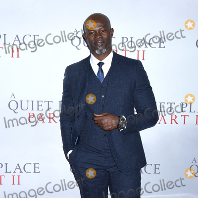 Djimon Hounsou Photo - 08 March 2020 - New York New York - Djimon Hounsou at the World Premiere of A QUIET PLACE PART II in the Rose Theater at Jazz at Lincoln Center Frederick P Rose Hall Photo Credit LJ FotosAdMedia