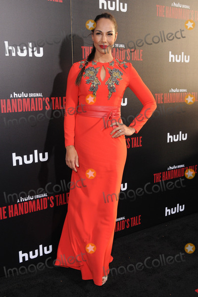 Amanda Brugel Photo - 25 April 2017 - Hollywood California - Amanda Brugel Los Angeles premiere of Hulus The Handmaids Tale held at ArcLight Hollywood in Hollywood Photo Credit Birdie ThompsonAdMedia