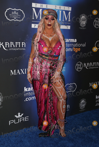 Aubrey ODay Photo - 21 October 2017 - Los Angeles California - Aubrey ODay 2017 MAXIM Halloween Party held at Los Angeles Center Studios Photo Credit F SadouAdMedia