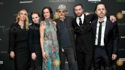 Taylor Johnson Photo - 04 December 2019 - West Hollywood California - Sam Taylor-Johnson Odessa Young Juliette Lewis Billy Bob Thorton Aaron Taylor-Johnson Giovanni Ribisi Special Screening Of Momentum Pictures A Million Little Pieces held at The London West Hollywood Photo Credit Birdie ThompsonAdMedia