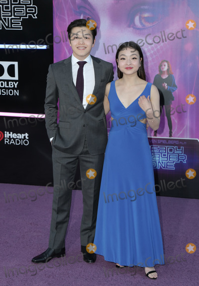 Alex Shibutani Photo - 26 March 2018 - Hollywood California - Maia Shibutani Alex Shibutani Premiere of Warner Bros Pictures Ready Player One held at Dolby Theatre Photo Credit PMAAdMedia
