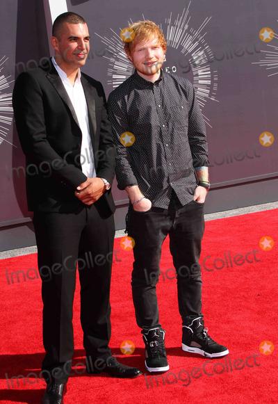 Ed Sheeran Photo - 24 August  2014 - Inglewood California - Emil Nava Ed Sheeran 2014 MTV Video Music Awards held at the The Forum Photo Credit AdMedia